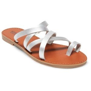 Women's Lina Slide Sandals Mossimo Supply Co.